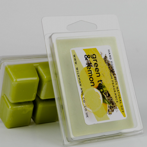 Green Tea & Lemon Soy Wax Melt